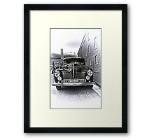 1940 Plymouth P9  US Navy Staff car Framed Print