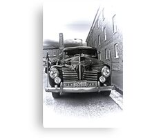 1940 Plymouth P9  US Navy Staff car Canvas Print