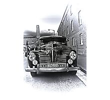 1940 Plymouth P9  US Navy Staff car Photographic Print