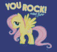 Fluttershy You rock by Blubb