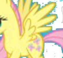 Fluttershy You rock Sticker