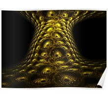 Reptile Tree Bark Eyes Poster