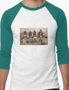 Homeland Security funny native amercan indian black tee shirt tshirt T-Shirt