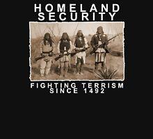 Homeland Security funny native amercan indian black tee shirt tshirt Hoodie