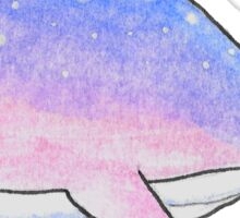 Space bisexuwhale Sticker