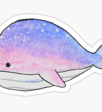 Space bisexuwhale Sticker
