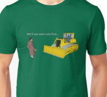 Hitchhiker's Guide to the Galaxy: We'll See Who Rusts First Unisex T-Shirt