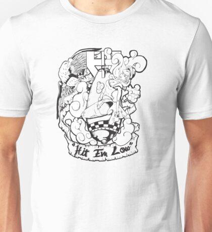 bomber girl Unisex T-Shirt