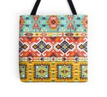 Aztec colorful fashion pattern Tote Bag