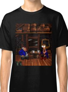 Drinking contest with Rum Rogers Jr (Monkey Island 2) Classic T-Shirt