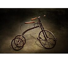 Bike - The Tricycle  Photographic Print