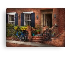 Bike - Waiting for a ride Canvas Print