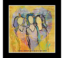 Friendship  - wall art Photographic Print