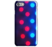 Defocused colored lights out of focus iPhone Case/Skin