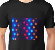 Defocused colored lights out of focus Unisex T-Shirt