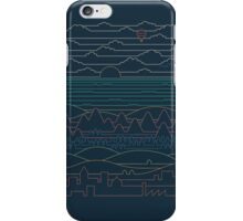 Linear Landscape iPhone Case/Skin