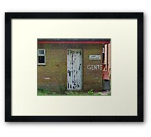 You Would Have To Be Really  Desperate ! Framed Print