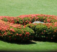 Flower Bush Sticker