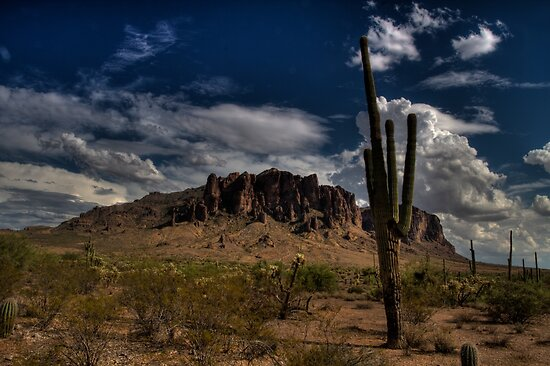 Superstition Mountain by DHParsons