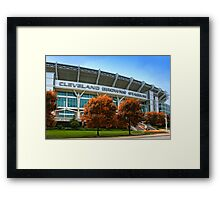 Cleveland Browns Stadium - Cleveland, Ohio Framed Print
