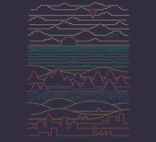 Linear Landscape Unisex T-Shirt