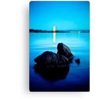 Tranquil City Canvas Print