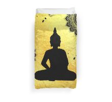Yogi and Mandala Duvet Cover