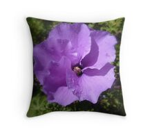 All about purple Throw Pillow