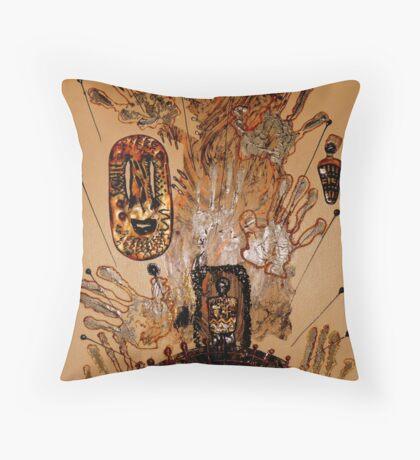 The Spirit of Survival Throw Pillow