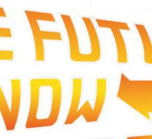 Back to the Future, The future is now 2016 Sticker