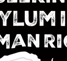 Seeking Asylum Is A Human Right Sticker