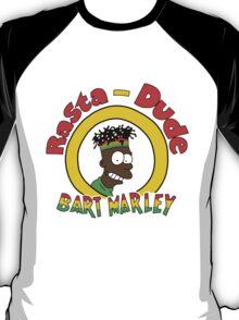 Rasta - Dude Bart Marley T-Shirt