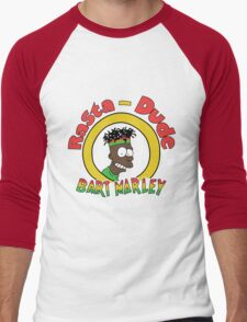Rasta - Dude Bart Marley Men's Baseball ¾ T-Shirt