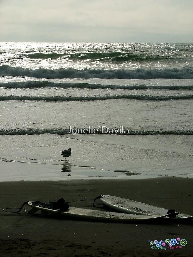 2 Surfboards by Jonelle Davila