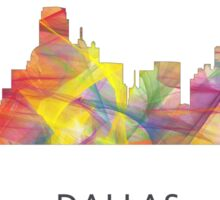 Dallas, Texas Skyline WB1 Sticker