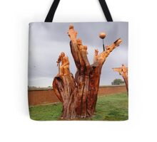 Chainsaw Sculptures, Campbell Town Tote Bag