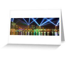 City of Lights • Brisbane Greeting Card