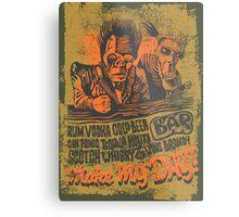 Make My Day! Metal Print