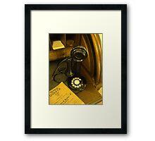 """""""Ring Me Up"""" Framed Print"""