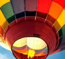 Multi Color Hot Air Balloon Sticker