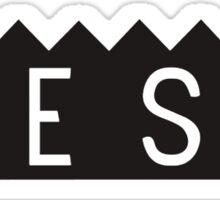 SESH CROWN BLACK  Sticker