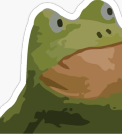 REKT GET OUT FROGOUT FROG M9 Sticker