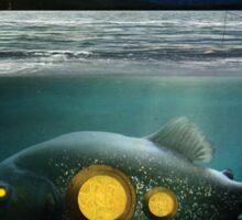 submarine fish Sticker