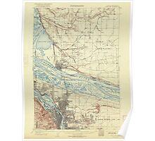 USGS Topo Map Oregon Portland 282797 1905 62500 Poster