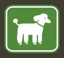 Poodle Graphic by Jenn Inashvili