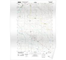 USGS Topo Map Idaho Parma 20110901 TM Poster