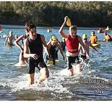 Kingscliff Triathlon 2011 Swim leg P144 by Gavin Lardner