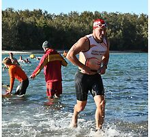 Kingscliff Triathlon 2011 Swim leg P163 by Gavin Lardner