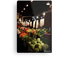 Soulard Farmers Market... Metal Print