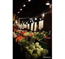 Soulard Farmers Market... Photographic Print